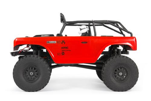 Axial 1/24 SCX24 Deadbolt RTR Scale Mini Crawler w/2.4GHz Radio (Red)