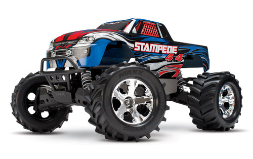 Traxxas Stampede 4X4 LCG 1/10 RTR Monster Truck w/XL-5 ESC, TQ 2.4GHz, Battery & Charger (Blue)