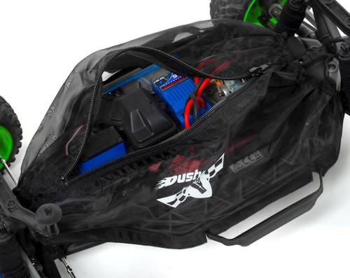 Dusty Motors Traxxas Rustler/Bandit Protection Cover (Blue)