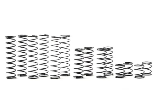 Yeah Racing 100mm Desert Lizard Two Stage Internal Spring Shock (2) (Gun Metal)