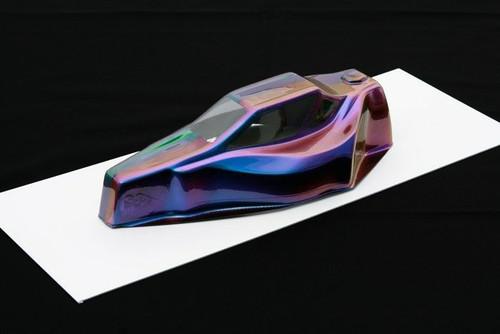 Spaz Stix Orange/Purple/Teal Color Change Aerosal Paint 3.5oz