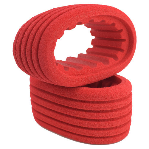 DE Racing Outlaw Sprint HB Dirt Oval Rear Tires w/Red Insert (D30) (2)