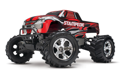 Traxxas Stampede 4X4 LCG 1/10 RTR Monster Truck w/XL-5 ESC, TQ 2.4GHz, Battery & Charger (Red)