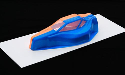 Spaz Stix Electric Blue Fluorescent Aerosol Paint 3.5oz