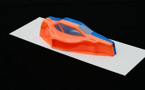 Spaz Stix Fireball Orange Fluorescent Airbrush Paint 2oz