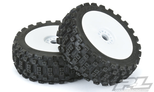 Pro-Line 9067-31 Badlands MX M2 (Medium) All Terrain 1/8 Buggy Tires Mounted