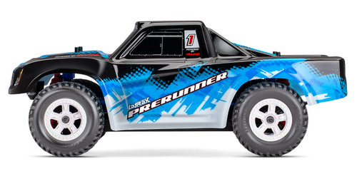 Traxxas LaTrax Desert Prerunner 1/18 4WD RTR Short Course Truck w/ 2.4GHz Radio, Battery and AC Charger (Blue)