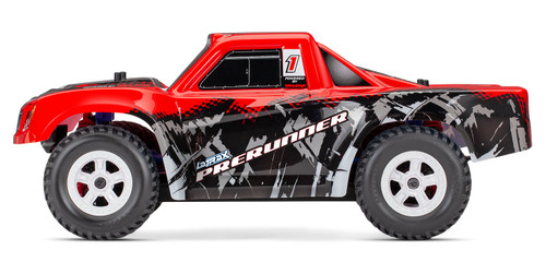 Traxxas LaTrax Desert Prerunner 1/18 4WD RTR Short Course Truck w/ 2.4GHz Radio, Battery and AC Charger (Red)