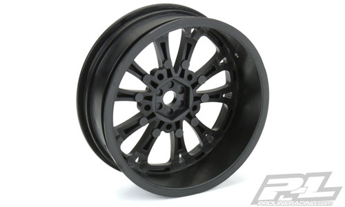 "Pro-Line 2775-03 2WD Pomona Drag Spec 2.2"" Front Drag Racing Wheels (2)"