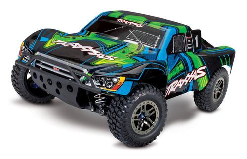 Traxxas Slash 4X4 Ultimate RTR 4WD Short Course Truck w/ TSM and TQi 2.4GHz Radio (Green)