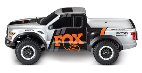 Traxxas 2017 Ford Raptor RTR Slash 1/10 2WD Truck w/TQ 2.4GHz Radio, Battery & DC Charger (FOX)