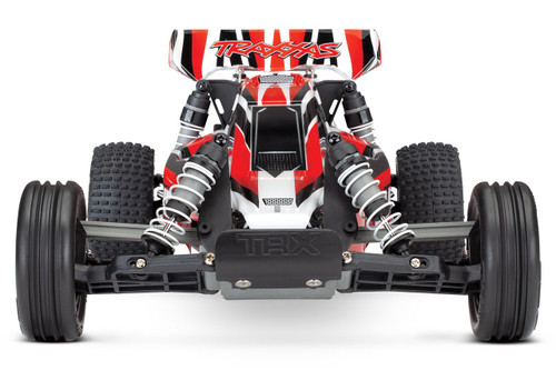 Traxxas Bandit 1/10 Scale Off-Road Buggy with TQ 2.4GHz Radio System (Red)