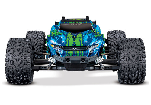 Traxxas Rustler 4X4 VXL Brushless RTR 1/10 4WD Stadium Truck w/TQi 2.4GHz Radio & TSM (Green)