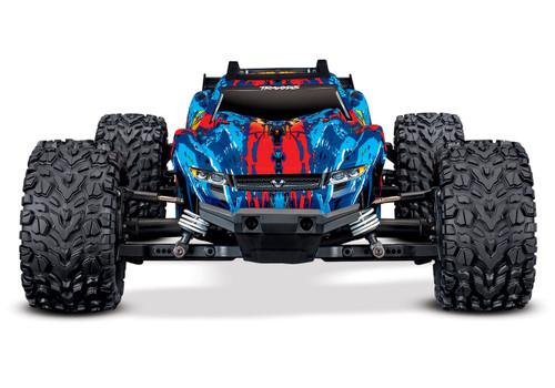 Traxxas Rustler 4X4 VXL Brushless RTR 1/10 4WD Stadium Truck w/TQi 2.4GHz Radio & TSM (Red)