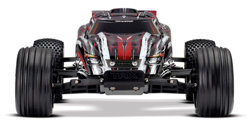 Traxxas Rustler 1/10 RTR 2WD Electric Stadium Truck w/XL-5 ESC & TQ 2.4GHz Radio (Red)