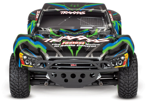 Traxxas Slash 4X4 RTR 4WD Brushed Short Course Truck with DC charger/battery (Green)