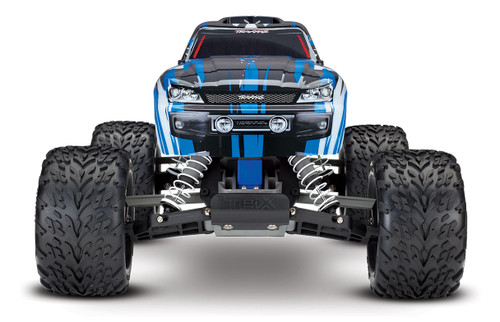 Traxxas Stampede 1/10 RTR Monster Truck w/XL-5 ESC, TQi 2.4GHz Radio, Battery & DC Charger (Blue Edition)
