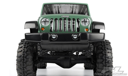 Pro-Line 3336-00 SCX10 Jeep Wrangler Unlimited Rubicon 12.3 Crawler Body (Clear)