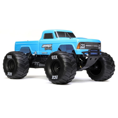 ECX 1/10 Amp Crush 2WD Monster Truck Brushed RTR (Blue)