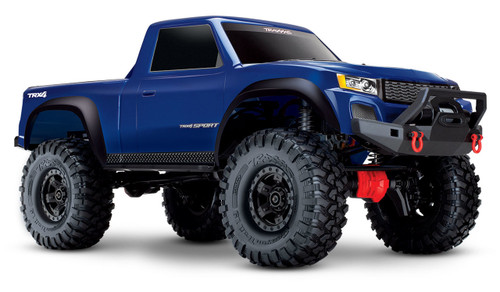 Traxxas TRX-4 Sport 1/10 Scale Trail Rock Crawler w/XL-5 ESC & TQi 2.4GHz Radio (Blue)