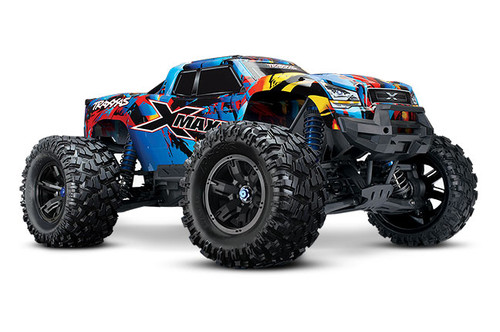 Traxxas X-Maxx 8S 4WD Brushless RTR Monster Truck w/ 2.4GHz TQi Radio and TSM (Rock n Roll)