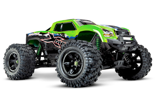 Traxxas X-Maxx 8S 4WD Brushless RTR Monster Truck w/ 2.4GHz TQi Radio and TSM (Green)