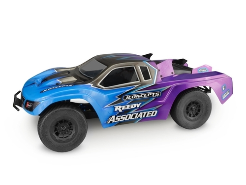 "JConcepts 0282 ""HF2 SCT"" Low-Profile Short Course Truck Body (Clear)"
