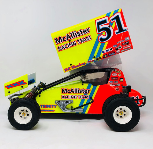 McAllister #430 Placerville Sprint Body Complete w/ Wings