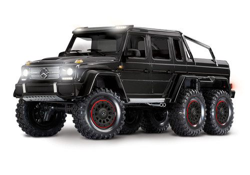 Traxxas TRX-6 Mercedes-Benz G 63 AMG 6x6, Black