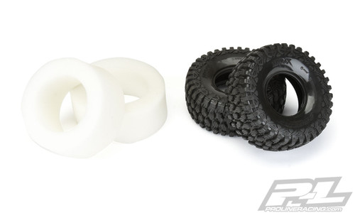 Pro-Line 10163-00 Unlimited Desert Racer Hyrax Tires w/Inserts (Z4) (2)