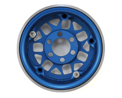 "Vanquish 07714 KMC XD127 Bully 1.9"" Beadlock Wheels (Blue) (2)"