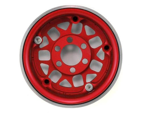 Vanquish 07713 KMC XD127 Bully 1.9 Beadlock Crawler Wheels (Red) (2)
