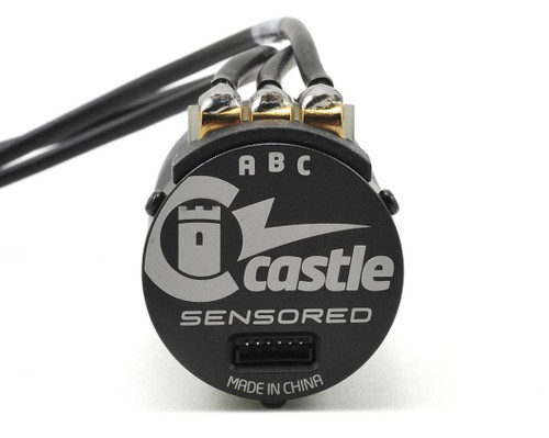 "Castle Creations ""Slate"" 1406 Sensored 4-Pole Brushless Crawler Motor (3800kV)"