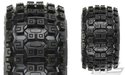 "Pro-Line 10127-10 Badlands MX38 3.8"" Tire w/Raid 8x32 Wheels (M2) (Black) (2)"