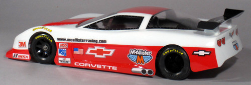 McAllister Racing #311 WGT-R Le Mans C6 Body w/ Decal