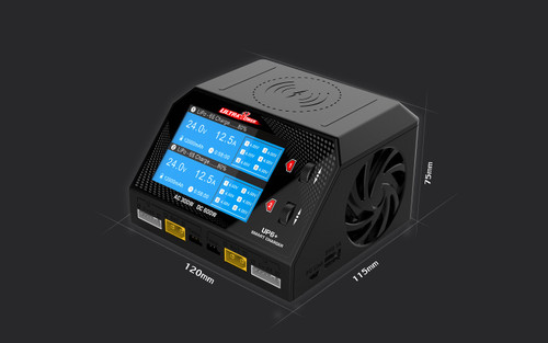 UltraPower UP6+ 300W/600W Dual Port Multi Chemistry AC/DC Charger