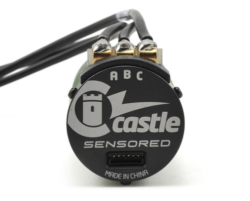 Castle Creations 1406 Sensored 4-Pole Brushless Motor (4600kV)