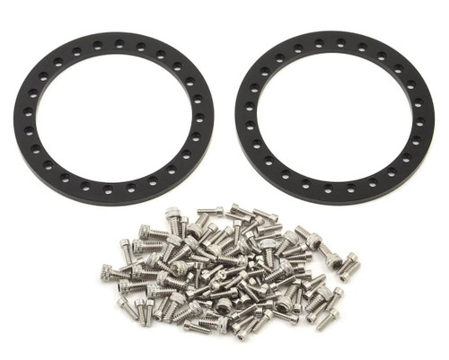 Vanquish 07710 KMC XD127 Bully 1.9 Beadlock Crawler Wheels (Black) (2)