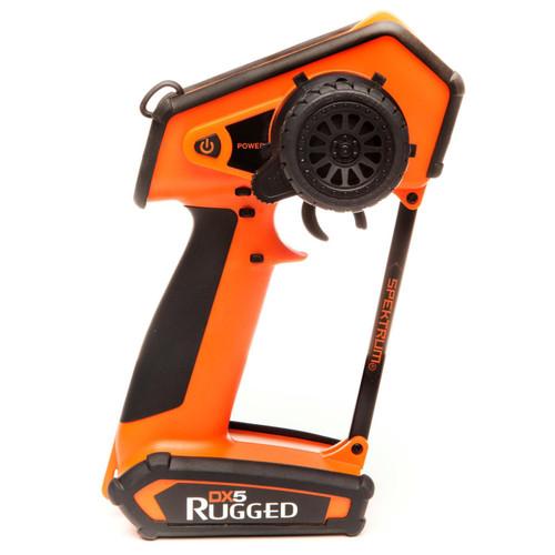 Spektrum RC DX5 Rugged 5-Channel DSMR Surface Radio (Transmitter Only) (Orange)