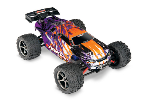 Traxxas E-Revo VXL 1/16 4WD Brushless RTR Truck (Purple) w/TQi 2.4GHz Radio, TSM, Battery and DC Charger