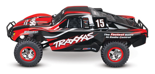Traxxas Slash 1/10 2wd RTR Short Course Truck w/XL-5 ESC, TQ 2.4GHz Radio, Battery & DC Charger (Red)