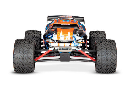 Traxxas E-Revo 1/16 4WD Brushed RTR Truck (Orange) w/2.4GHz Radio,  Battery and DC Charger