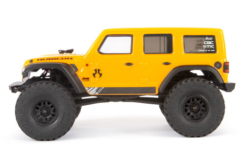 Axial 1/24 SCX24 2019 Jeep Wrangler JLU CRC Rock Crawler 4WD RTR, Yellow