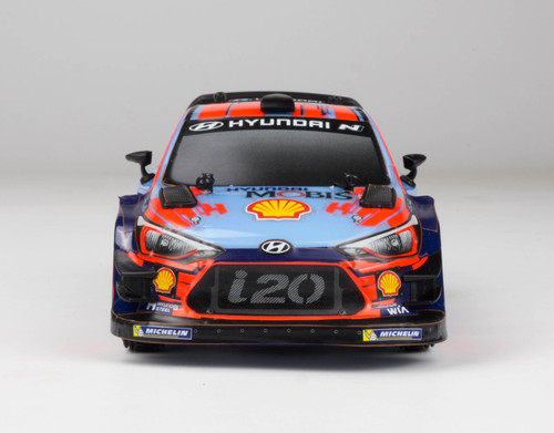 Carisma GT24 1/24 Scale Micro 4WD Brushless RTR, Hyundai i20 WRC