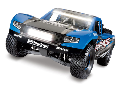 Traxxas Unlimited Desert Racer 6S RTR 4WD Electric Race Truck w/TQi 2.4GHz Radio w/Light Kit (Blue)