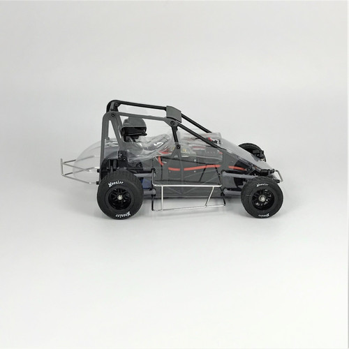 1 RC Racing 1/18 Midget 2.0, Clear, RTR