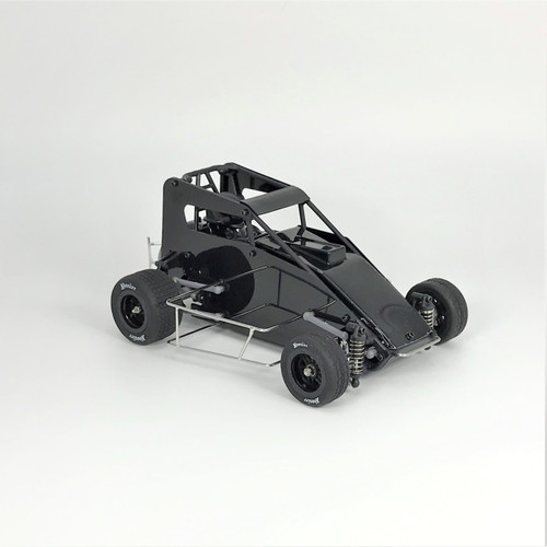 1 RC Racing 1/18 Midget 2.0, Black, RTR