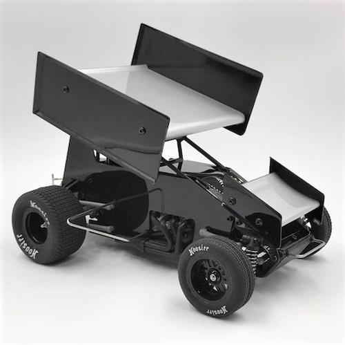 1RC Racing 1/18 Sprint Car, Black, RTR
