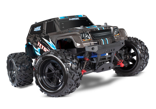 Traxxas LaTrax Teton 1/18 4WD RTR Monster Truck w/ 2.4GHz Radio, Battery and AC Charger, Black