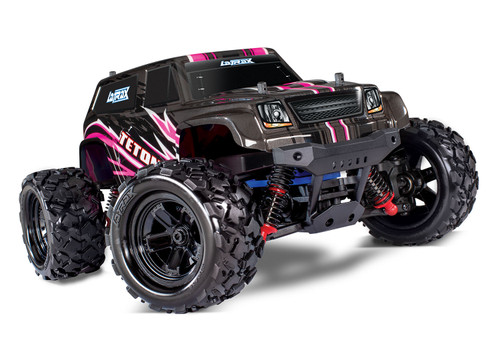 Traxxas LaTrax Teton 1/18 4WD RTR Monster Truck w/ 2.4GHz Radio, Battery and AC Charger, Pink
